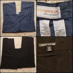 Women's Plus Size Pants Bundle